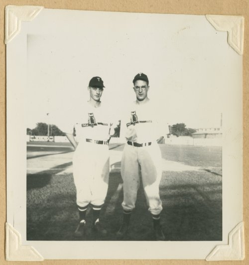 Unidentified baseball players - Page