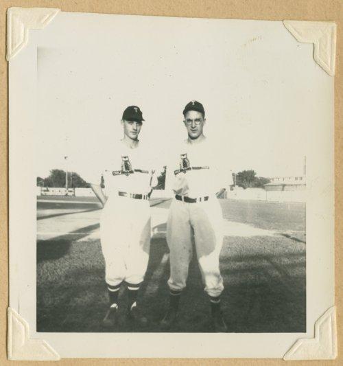 Unidentified baseball players - Page