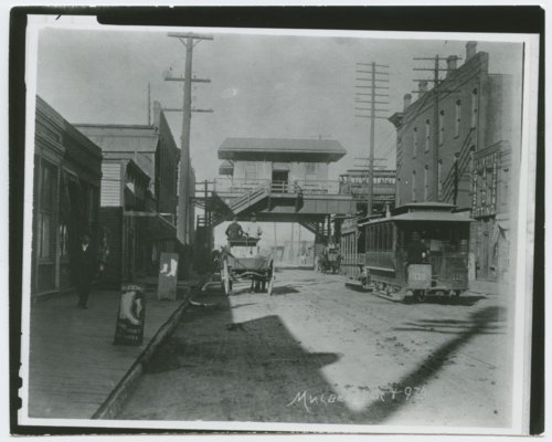 Cable car at Mulberry Street and 9th Street in Kansas City, Kansas - Page
