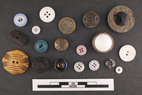 Buttons from the Canville Trading Post, 14NO396 - Page