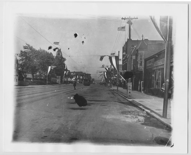 A celebration on Minnesota Avenue, looking east at 8th Street - Page