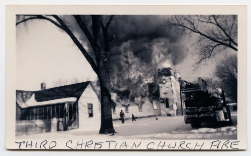 Fire at the Third Christian Church in Topeka, Kansas - Page