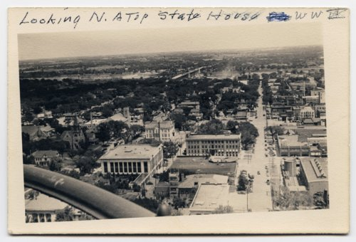 View from the statehouse dome in Topeka, Kansas - Page