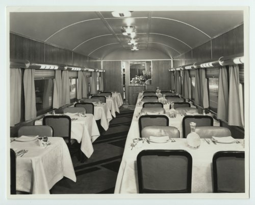 Atchison, Topeka & Santa Fe Railway's Super Chief dining car - Page
