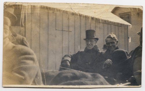 President Woodrow Wilson and Governor Arthur Capper in Topeka, Kansas - Page