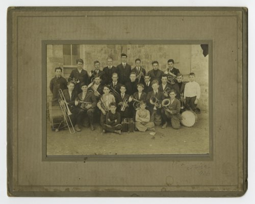 Bixby school band in Valley Brook Township, Osage County, Kansas - Page