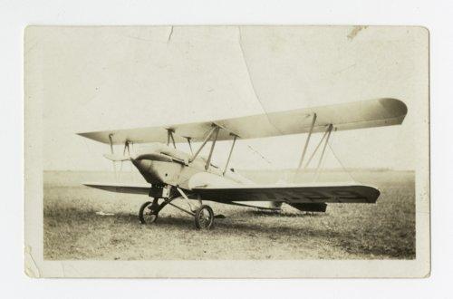 Howard Athon's Alexander Eaglerock bi-plane in Topeka, Kansas - Page