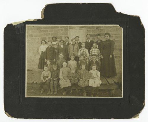 Bixby School near Lyndon, Kansas - Page
