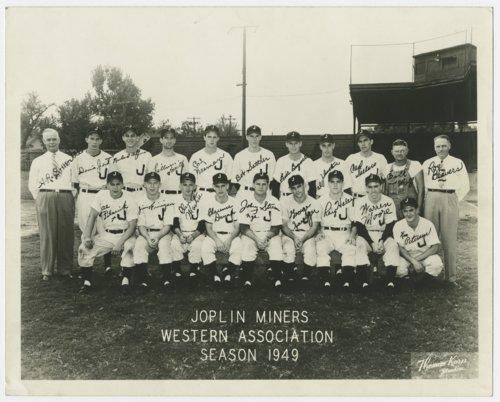 Joplin Miners minor league baseball team - Page