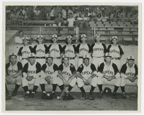 Topeka Decker Oilers baseball team - Page