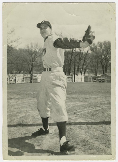 Harland Coffman of the Joplin Miners baseball team - Page