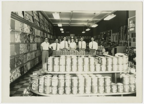 Employees of the Cook's paint store in Topeka, Kansas - Page