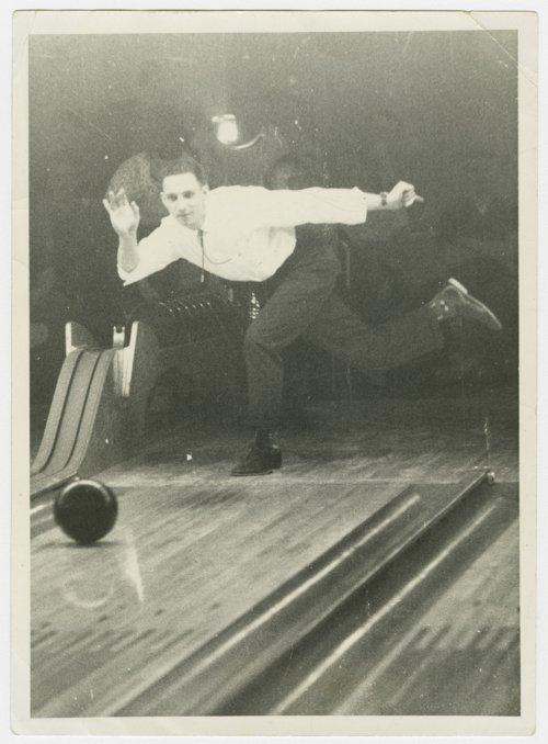 Harland Coffman, bowling in Topeka, Kansas - Page