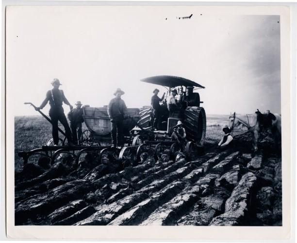 Breaking sod, western Kansas - Page