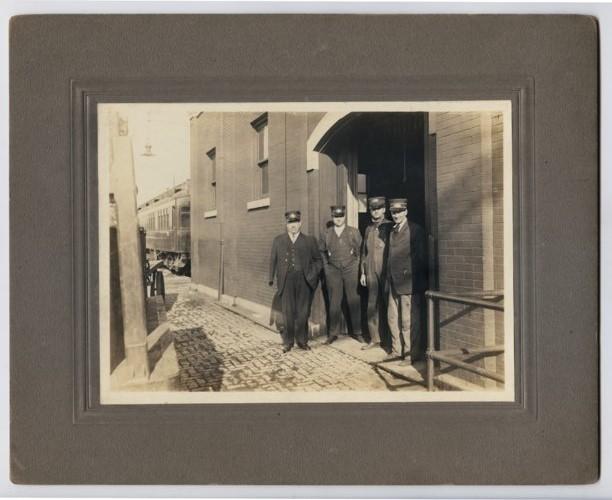 Atchison, Topeka & Santa Fe Railway Company conductors, Topeka, Kansas - Page