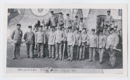 Firemen, Caldwell, Kansas - Page