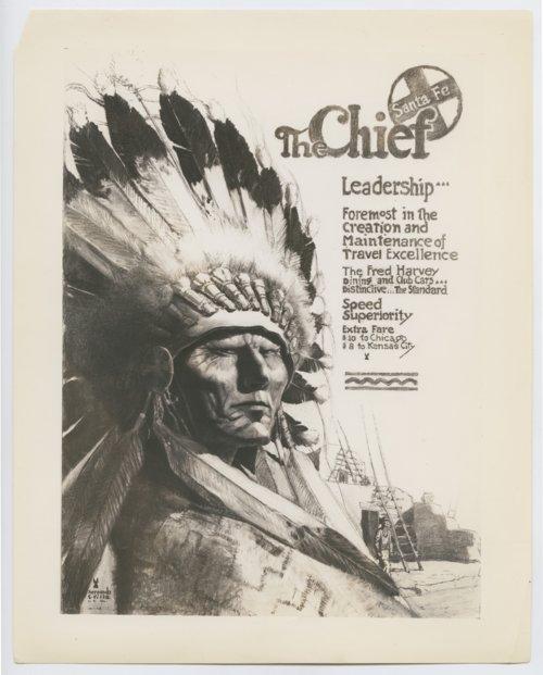 Atchison, Topeka & Santa Fe Railway Company's advertisement - Page