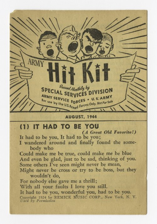 """""""Army Hit Kit"""" booklet - Page"""