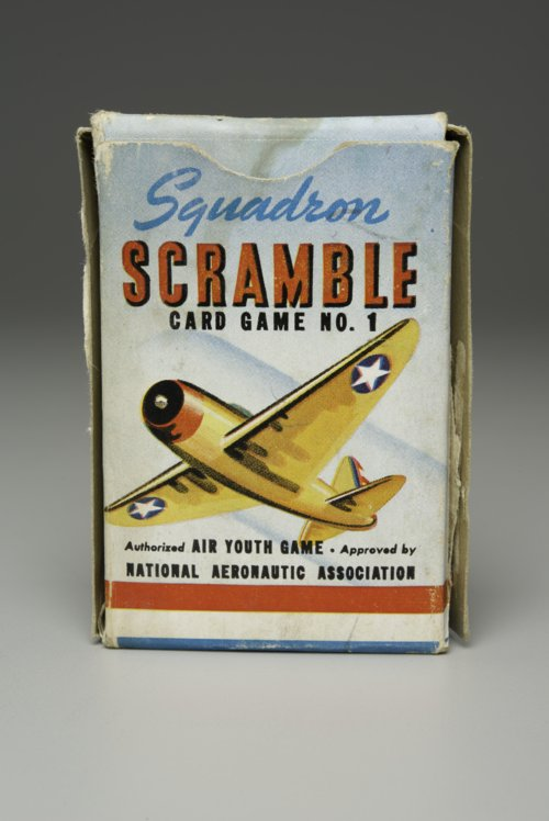 Squadron Scramble card game - Page