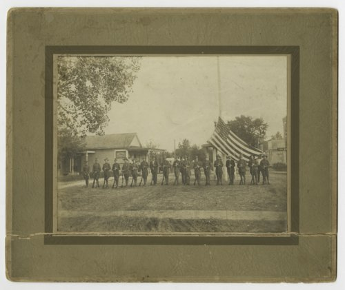 World War I soldiers in Lyndon, Kansas - Page