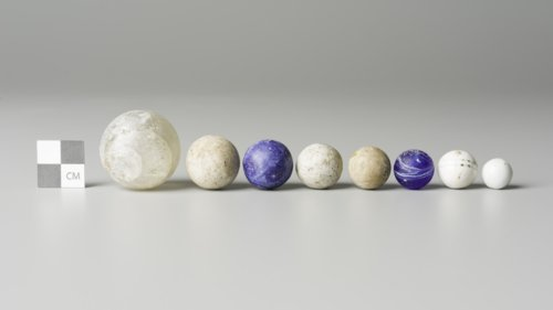 Marbles from Fort Hays, 14EL301 - Page