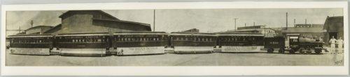 Atchison, Topeka & Santa Fe miniature passenger train in Topeka, Kansas - Page