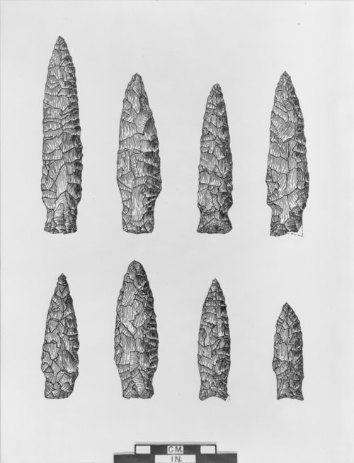 Munkers Creek Projectile Points - Page
