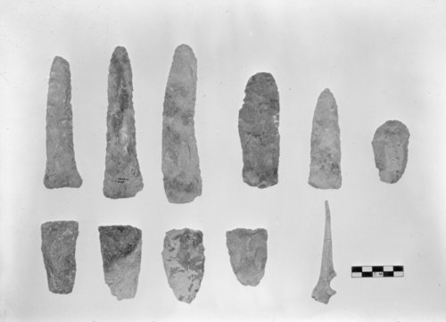 Munkers Creek Knives, Gouges and Bone Awl from the William Young Site, 14MO304 - Page