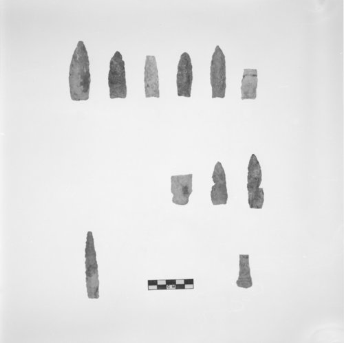 Munkers Creek Projectile Points and Drill, 14MO304 - Page