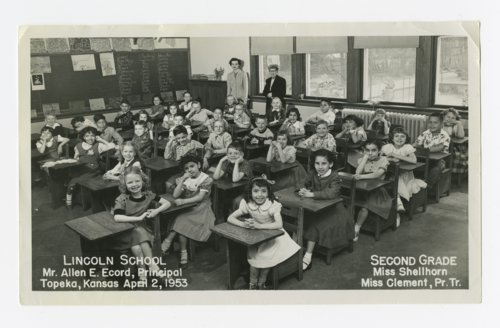Second grade at Lincoln School, Topeka, Kansas - Page
