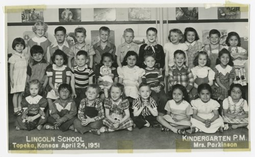 Kindergarten p. m. class at Lincoln School, Topeka, Kansas - Page
