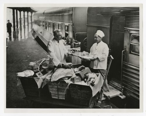 Atchison, Topeka & Santa Fe Railway Company's dining services - Page