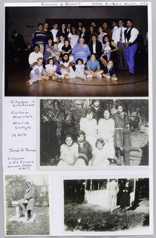 Virginia Villafranco Duran and Jose G. Duran - Page