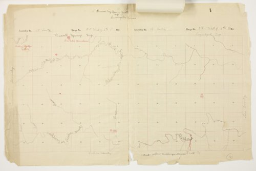 Bessie Buell's map of Paxton Township, Logan County - Page