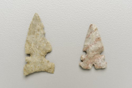 Huffaker Arrow Points from the Hallman site - Page