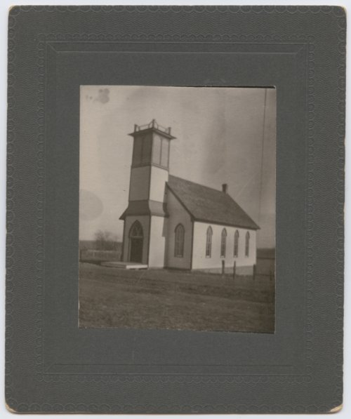 Church in Larkinburg, Kansas - Page