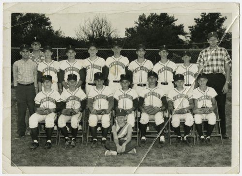 Chieftains baseball team, Tecumseh, Kansas - Page