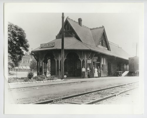 Atchison, Topeka & Santa Fe Railway Company depot, Claremont, California - Page