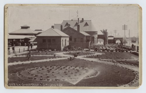 Atchison, Topeka & Santa Fe Railway Company depot, La Grande, Los Angeles, California - Page