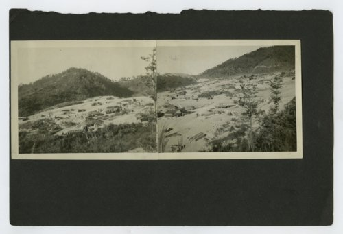 Panorama view of firing batteries along the South and North Korean border - Page