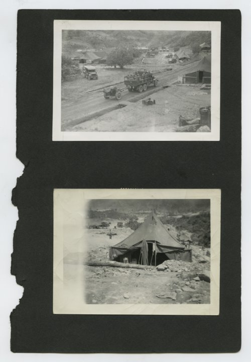 Living quarters for the 196th Field Artillery Battalion near the Demilitarized Zone - Page