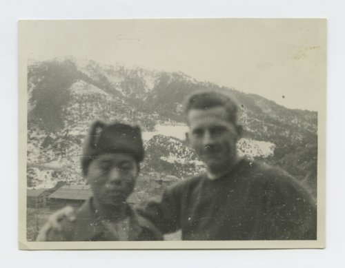Tek and Scribner on the North and South Korean border - Page