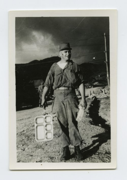 Soldier in camp near the Demilitarized Zone in South Korea - Page