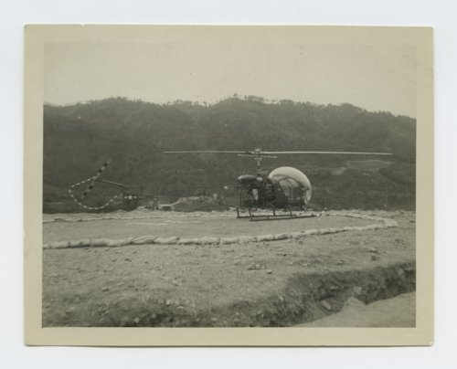 196th Field Artillery Battalion's helicoper pad in South Korea - Page