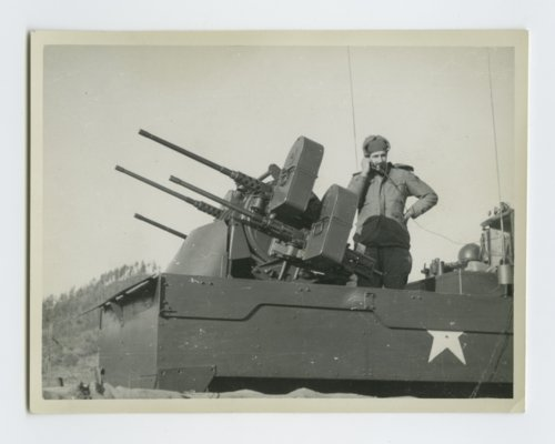 45th Infantry Division's quad 50 caliber anti-aircraft half track - Page