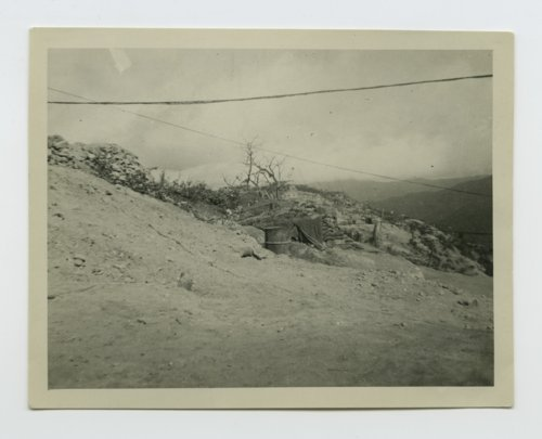 Back view of the front line in South Korea after the armistice was signed - Page