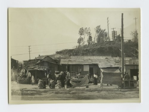 Street scene near the 52nd Replacement Depot in Chuncheon, South Korea - Page