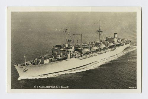 U. S. Naval Ship Gen. C. C. Ballou - Page