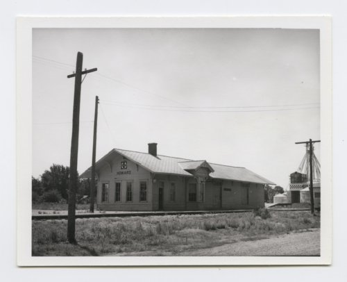 Atchison, Topeka and Santa Fe Railway Company depot, Howard, Kansas - Page