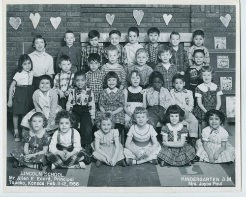 Kindergarten a.m. class at Lincoln School, Topeka, Kansas - Page